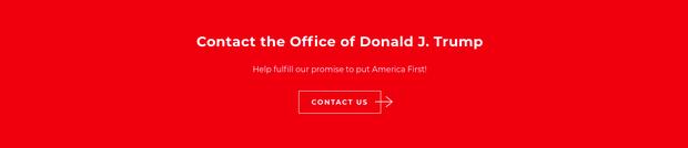 Donald Trump chính thức giới thiệu trang web chính thức của Tổng thống Mỹ thứ 45 - Ảnh 3.
