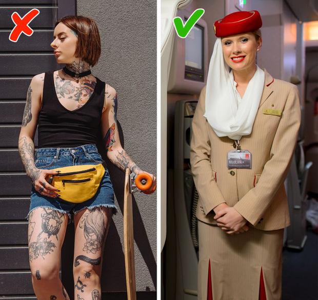 Những điều cực cấm kị đối với các tiếp viên hàng không trên máy bay, đọc xong mới biết nghề này khắt khe cỡ nào - Ảnh 10.