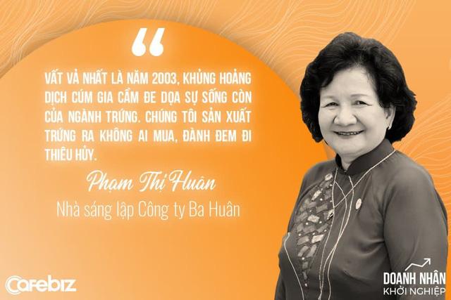 """""""Nữ hoàng hột vịt"""" Ba Huân: Từ trái trứng vỡ, trứng ung của má tới chiếc xuồng chở đầy trứng bôn ba khắp dòng Mekong - Ảnh 2."""