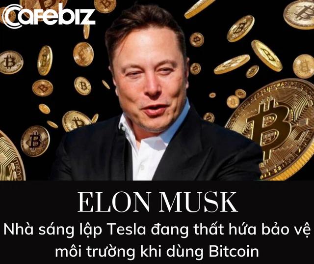 Cam kết bảo vệ môi trường nhưng lại ủng hộ Bitcoin, Elon Musk bị chỉ trích hứa lèo - Ảnh 2.