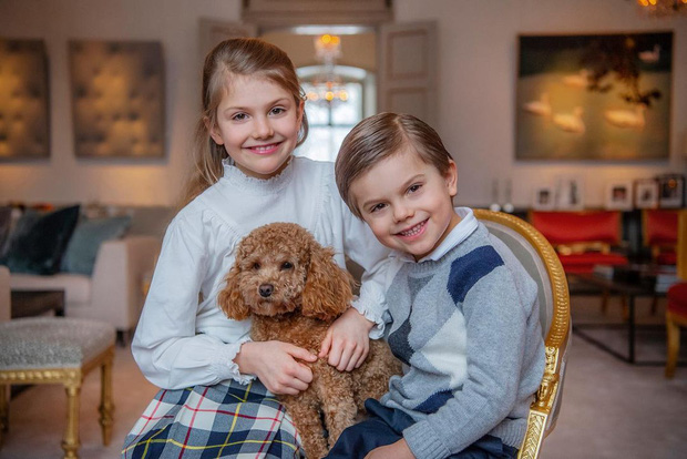 Hoàng gia Thụy Điển chia sẻ hình ảnh dịp sinh nhật 5 tuổi con trai Thái tử, ai cũng phải xuýt xoa vì thần thái hơn người của những đứa trẻ kế vị - Ảnh 4.