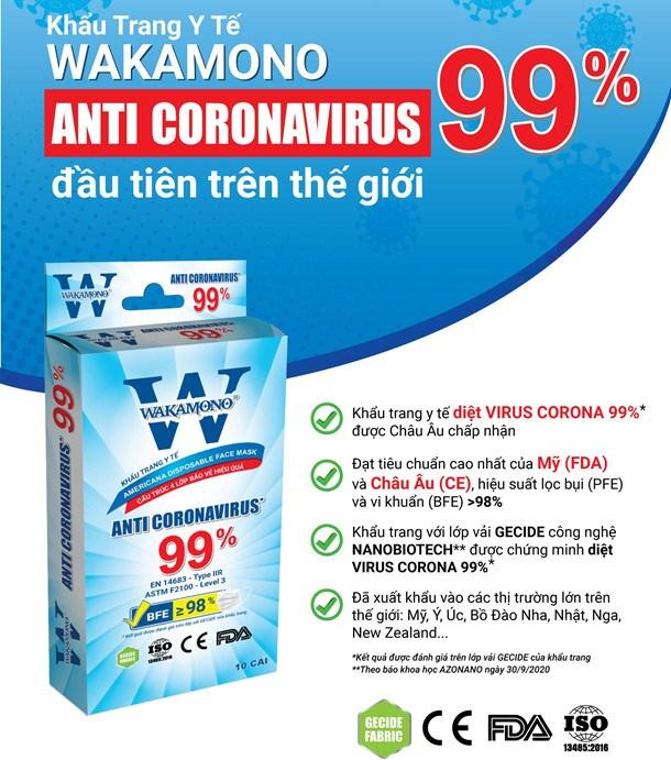 Giữa lúc toàn cầu loay hoay, một sản phẩm made in Vietnam diệt tới 99% virus corona và biến chủng khiến các nhà khoa học thế giới phải sửng sốt  - Ảnh 3.