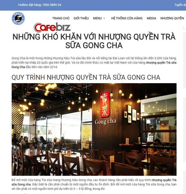 Cạnh tranh vô duyên kiểu trà sữa Pozza Tea: Chê thẳng mặt Gong Cha thu phí nhượng quyền 3-5 tỷ đồng quá