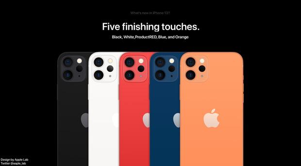 iPhone 13 lộ ảnh concept với phối màu mới, cực kỳ sang xịn - Ảnh 1.