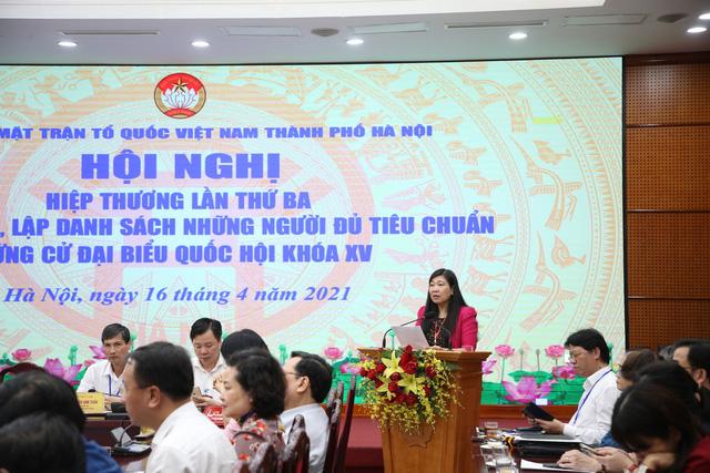 Hà Nội giảm 1 đại biểu Quốc hội do Trung ương giới thiệu - Ảnh 1.
