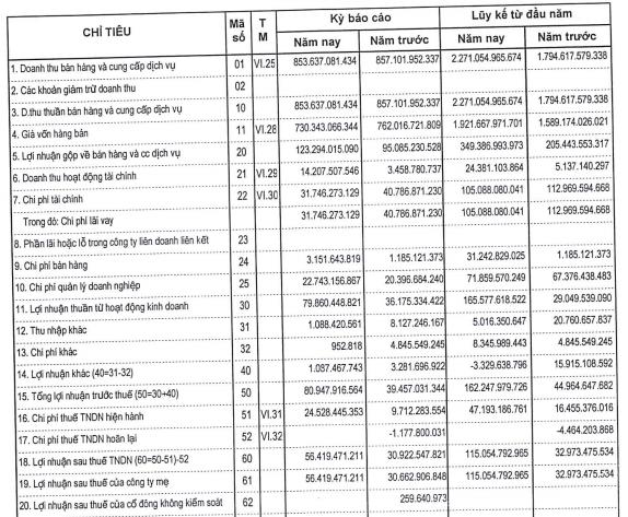 Tổng công ty 36 (G36) điều chỉnh giảm 50% lãi sau thuế sau kiểm toán do trích lập dự phòng, lên kế hoạch niêm yết HNX - Ảnh 2.