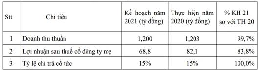 SAFI đặt kế hoạch lợi nhuận 2021 giảm hơn 16%, chi trả cổ tức 15% - Ảnh 1.