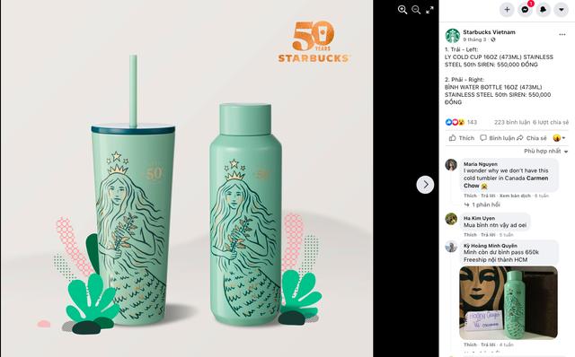 Starbucks Việt Nam: Chúng tôi luôn bị phàn nàn vì sao lại sớm hết hàng ly tách, bình đựng nước, sổ tay… - Ảnh 2.