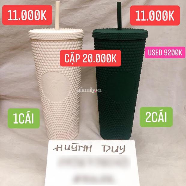 Ngã ngửa vì hiện tượng đầu cơ ly Starbucks, giá tăng chóng mặt một cách khó hiểu đến mức mua 1 triệu - bán lại tận 20 triệu cho 2 chiếc ly nhựa cũng cháy hàng - Ảnh 13.