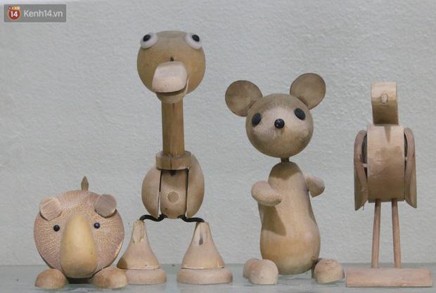 Về hưu sau thời gian làm thiết kế tại Đài truyền hình Việt Nam, người họa sĩ già hô biến tre thành món quà tặng trẻ thơ - Ảnh 7.