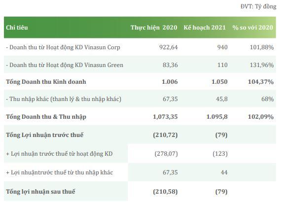 Quý 1 lỗ 30 tỷ đồng, Vinasun (VNS) đã lỗ 5 quý liên tiếp - Ảnh 2.