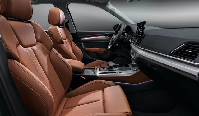 Audi Q5 2021 chính hãng đầu tiên xuất hiện tại Việt Nam - Đối thủ ngang tầm Mercedes-Benz GLC và BMW X3 - Ảnh 8.