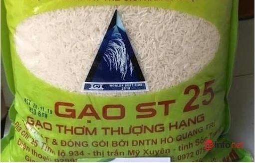 Thị trường vô vàn loại gạo ST25, khó biết thật giả - Ảnh 4.
