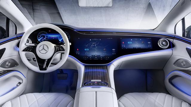 Mercedes-Benz EQS sắp về Việt Nam: Lớn như S-Class, chạy điện, có thể tận dụng trạm sạc VinFast - Ảnh 5.