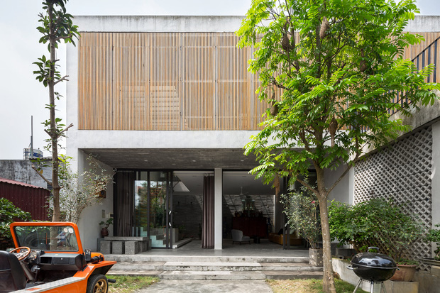 Xây nhà 2,5 tỷ với vật liệu hoàn thiện từ 100% bê tông, cặp vợ chồng khiến người bạn nước ngoài thích thú phải thuê ngay một phòng - Ảnh 1.
