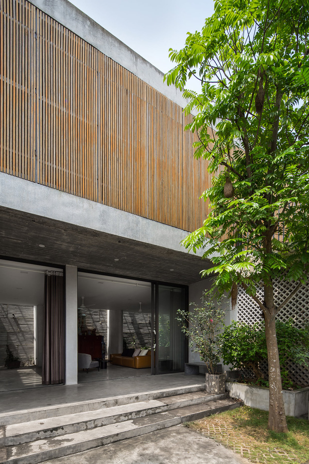 Xây nhà 2,5 tỷ với vật liệu hoàn thiện từ 100% bê tông, cặp vợ chồng khiến người bạn nước ngoài thích thú phải thuê ngay một phòng - Ảnh 2.
