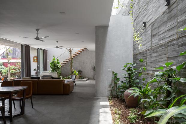 Xây nhà 2,5 tỷ với vật liệu hoàn thiện từ 100% bê tông, cặp vợ chồng khiến người bạn nước ngoài thích thú phải thuê ngay một phòng - Ảnh 11.