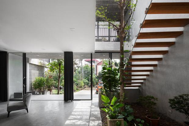 Xây nhà 2,5 tỷ với vật liệu hoàn thiện từ 100% bê tông, cặp vợ chồng khiến người bạn nước ngoài thích thú phải thuê ngay một phòng - Ảnh 12.
