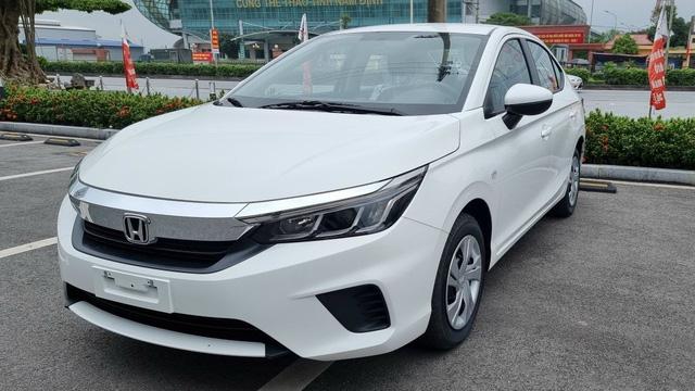 Honda City E 2021 ồ ạt về đại lý: Xe dịch vụ giá 499 triệu, vẫn số tự động, đấu Toyota Vios số sàn - Ảnh 4.