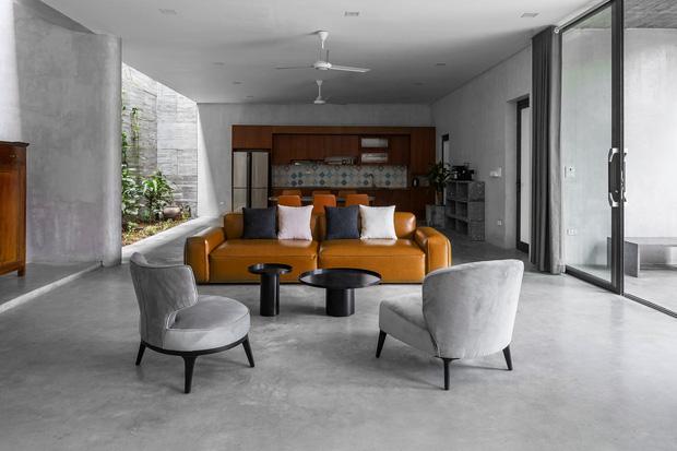 Xây nhà 2,5 tỷ với vật liệu hoàn thiện từ 100% bê tông, cặp vợ chồng khiến người bạn nước ngoài thích thú phải thuê ngay một phòng - Ảnh 9.