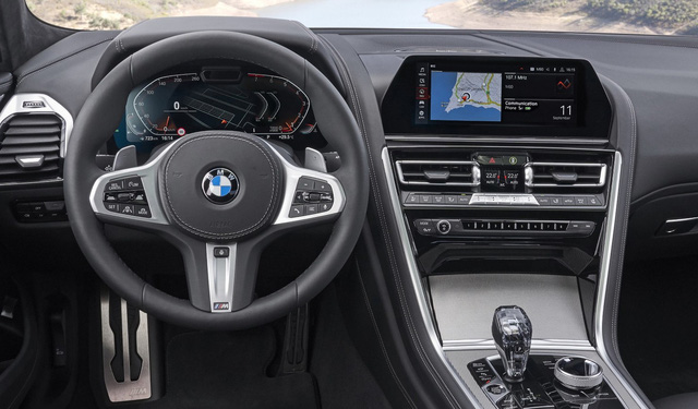 BMW 8-Series đầu tiên về Việt Nam: Giá gần 7 tỷ, to ngang 7-Series nhưng khác biệt hoàn toàn, đấu Porsche Panamera - Ảnh 11.