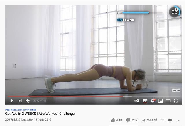 Chloe Ting - Búp bê tập Gym hay thiên tài Marketing: Cách tạo ra 1,8 tỷ lượt xem YouTube chỉ trong hơn 1 năm Covid - Ảnh 3.