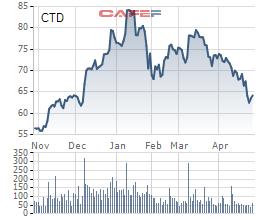 Coteccons (CTD): Lợi nhuận quý 1/2021 giảm mạnh 56% xuống còn 54,4 tỷ đồng - Ảnh 2.