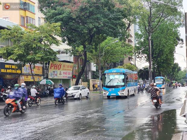 ẢNH: Mưa lớn bất ngờ vào giữa trưa, người Sài Gòn được giải nhiệt sau những ngày nắng nóng oi bức - Ảnh 19.
