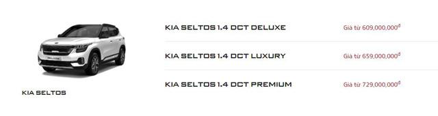 Kia Seltos tăng giá mọi phiên bản tại Việt Nam - Vua doanh số chưa sợ tụt hạng - Ảnh 1.