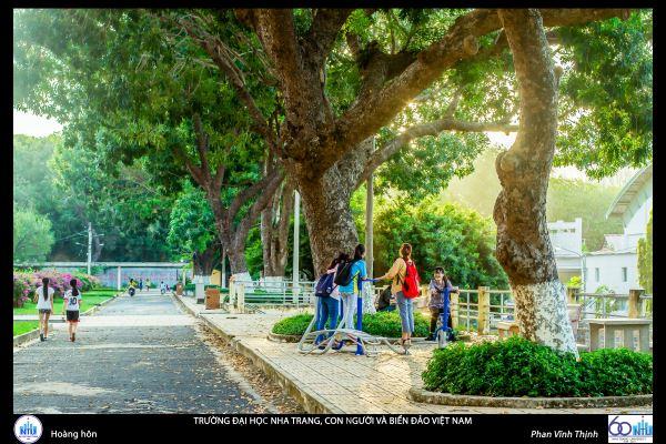 Ngôi trường có khuôn viên đẹp nhất Việt Nam, 4 mùa hoa nở, học phí siêu thấp mà sinh viên đi học ngày nào cũng ngỡ lạc vào resort - Ảnh 8.