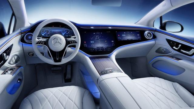 Siêu phẩm xe điện EQS của Mercedes-Benz tiếp tục lộ thông số: chạy gần 800 km cho một lần sạc - Ảnh 3.