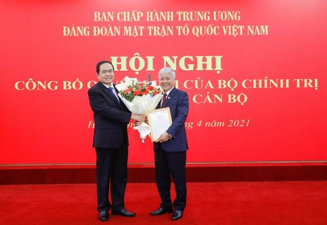 Bộ Chính trị chỉ định Bí thư Trung ương Đảng - Bộ trưởng Đỗ Văn Chiến giữ chức vụ mới - Ảnh 1.