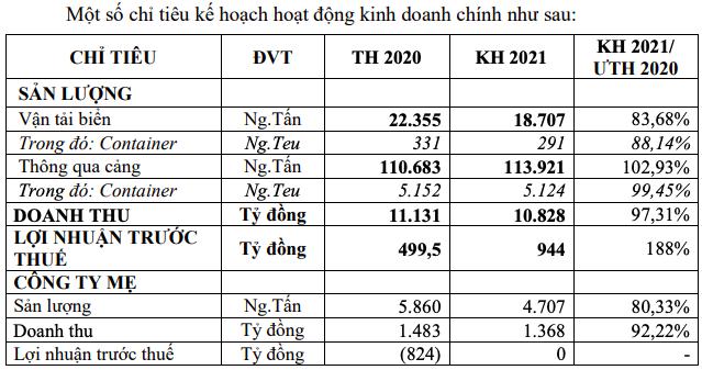 Mảng vận tải biển vẫn lỗ gần nghìn tỷ đồng, Tổng Công ty Hàng hải muốn thoái vốn tại hàng loạt công ty - Ảnh 3.