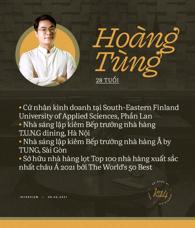 Bếp trưởng nhà hàng Hà Nội lọt top 100 châu Á: Bỏ sự nghiệp nước ngoài, về nước với công thức thành công chỉ sau 2 năm - Ảnh 1.
