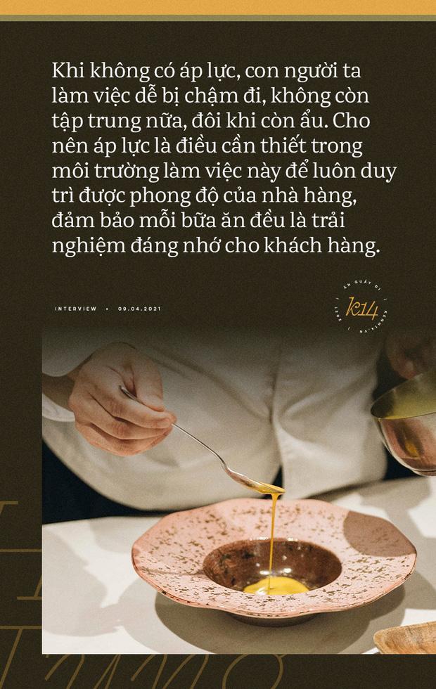 Bếp trưởng nhà hàng Hà Nội lọt top 100 châu Á: Bỏ sự nghiệp nước ngoài, về nước với công thức thành công chỉ sau 2 năm - Ảnh 24.