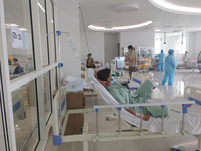Hình ảnh mới nhất từ Bệnh viện dã chiến Bạch Mai cơ sở Hà Nam - Ảnh 2.