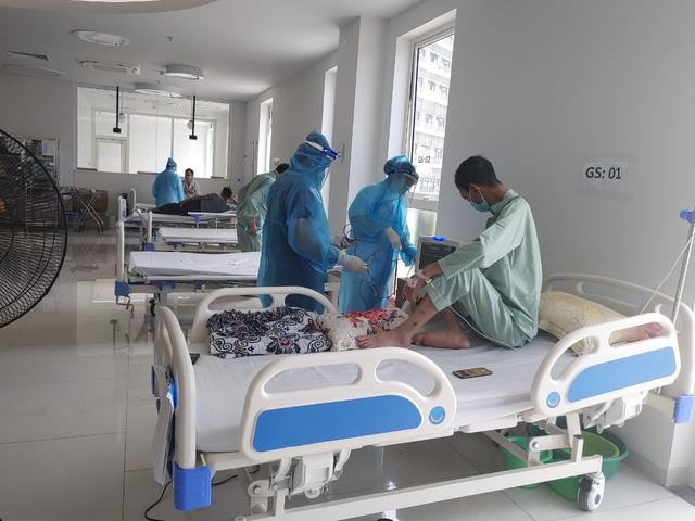 Hình ảnh mới nhất từ Bệnh viện dã chiến Bạch Mai cơ sở Hà Nam - Ảnh 3.