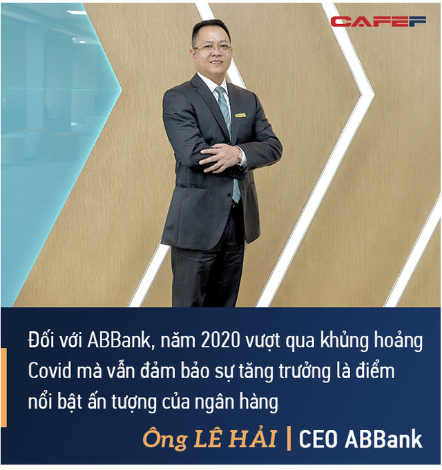 CEO ABBank Lê Hải: An Bình sẽ tập trung 2 giải pháp lớn, đặt mục tiêu vào top 8 ngân hàng có tỷ suất lợi nhuận trên vốn tốt nhất - Ảnh 2.