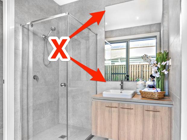 7 lỗi thiết kế ngớ ngẩn trong phòng tắm mà nhiều người mắc phải - Ảnh 4.