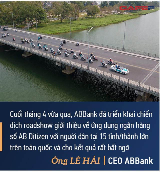 CEO ABBank Lê Hải: An Bình sẽ tập trung 2 giải pháp lớn, đặt mục tiêu vào top 8 ngân hàng có tỷ suất lợi nhuận trên vốn tốt nhất - Ảnh 4.
