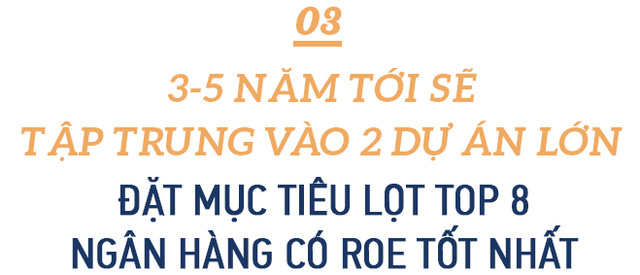CEO ABBank Lê Hải: An Bình sẽ tập trung 2 giải pháp lớn, đặt mục tiêu vào top 8 ngân hàng có tỷ suất lợi nhuận trên vốn tốt nhất - Ảnh 6.