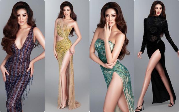 Bán kết Miss Universe 2020: Khánh Vân giật spotlight với cú xoay bạc hà lốc xoáy trong phần thi áo tắm, đổi váy dạ hội vào phút chót vì 1 lý do cực cảm động - Ảnh 3.