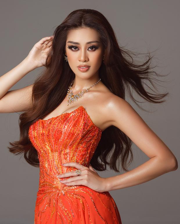 Cận cảnh trang phục dạ hội Khánh Vân diện tại Bán kết Miss Universe: Tinh xảo tôn trọn sắc vóc, bất ngờ ý nghĩa sâu sắc đằng sau - Ảnh 5.