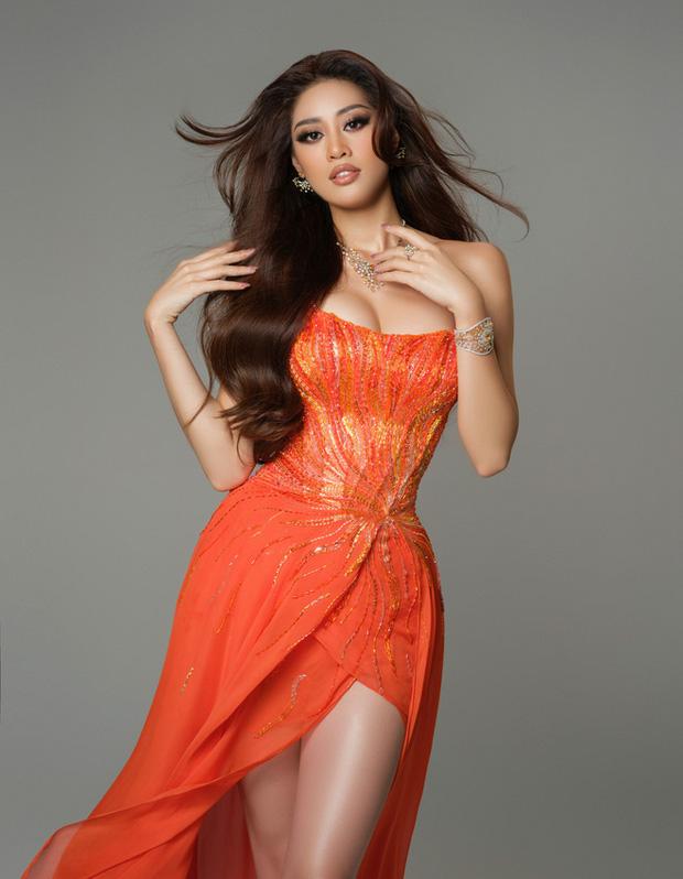 Cận cảnh trang phục dạ hội Khánh Vân diện tại Bán kết Miss Universe: Tinh xảo tôn trọn sắc vóc, bất ngờ ý nghĩa sâu sắc đằng sau - Ảnh 7.