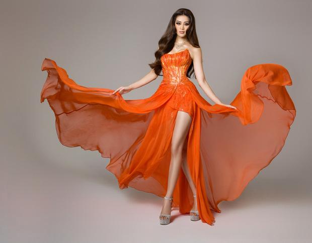 Cận cảnh trang phục dạ hội Khánh Vân diện tại Bán kết Miss Universe: Tinh xảo tôn trọn sắc vóc, bất ngờ ý nghĩa sâu sắc đằng sau - Ảnh 11.