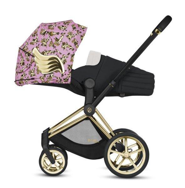 Xe đẩy Cybex cánh vàng: Siêu phẩm dành cho những em bé sướng từ trong nôi, được đích thân Giám đốc sáng tạo của Moschino thiết kế  - Ảnh 2.