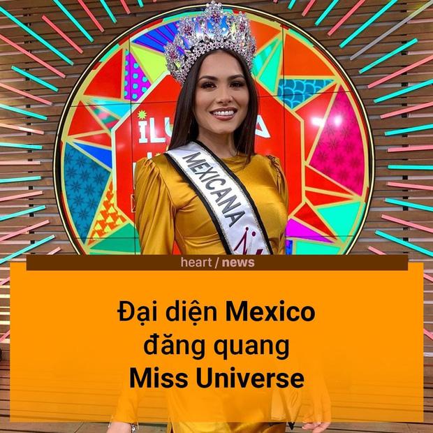 Chúc mừng người đẹp Mexico đăng quang Miss Universe 2020! - Ảnh 1.