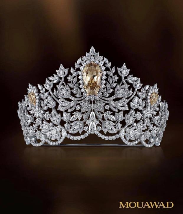 Lộ diện vương miện 115 tỷ đắt nhất thế giới của Miss Universe 2020: Khánh Vân hay ai sẽ là người có được vinh hạnh này? - Ảnh 4.