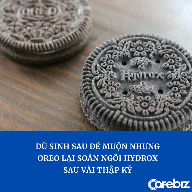 Đại chiến bánh quy kẹp kem: Oreo lật đổ ngoạn mục 'bản gốc' dù ra đời muộn hơn 4 năm, bị chỉ thẳng mặt là 'hàng phake' - Ảnh 1.