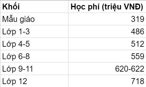 5 trường quốc tế có mức học phí năm 2021-2022 cao ngất ngưởng tại TP. HCM: Phụ huynh phải trả gần nửa tỷ VNĐ/năm, nhưng chất lượng khỏi cần bàn cãi - Ảnh 4.